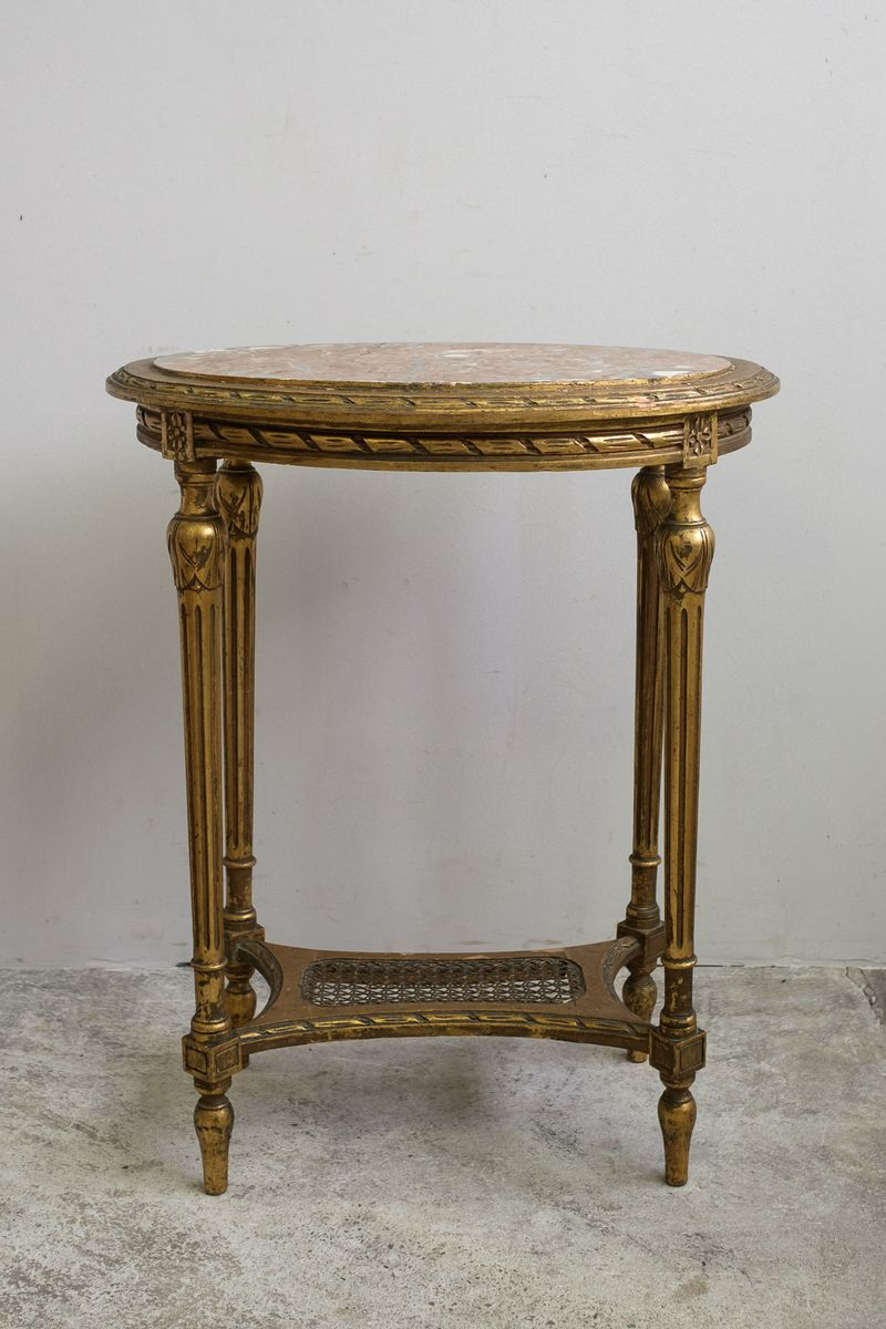 antiker ludwig xvi couchtisch aus marmor 1790er bei pamono kaufen. Black Bedroom Furniture Sets. Home Design Ideas