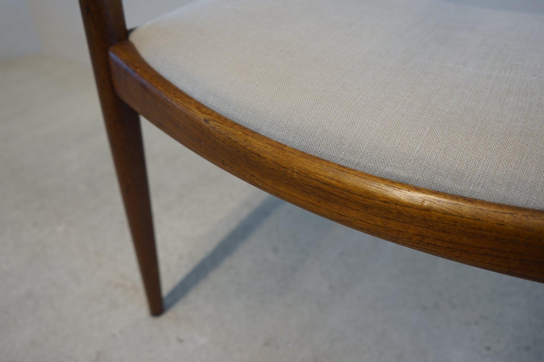 mid century 503 stuhl von hans j wegner f r johannes. Black Bedroom Furniture Sets. Home Design Ideas