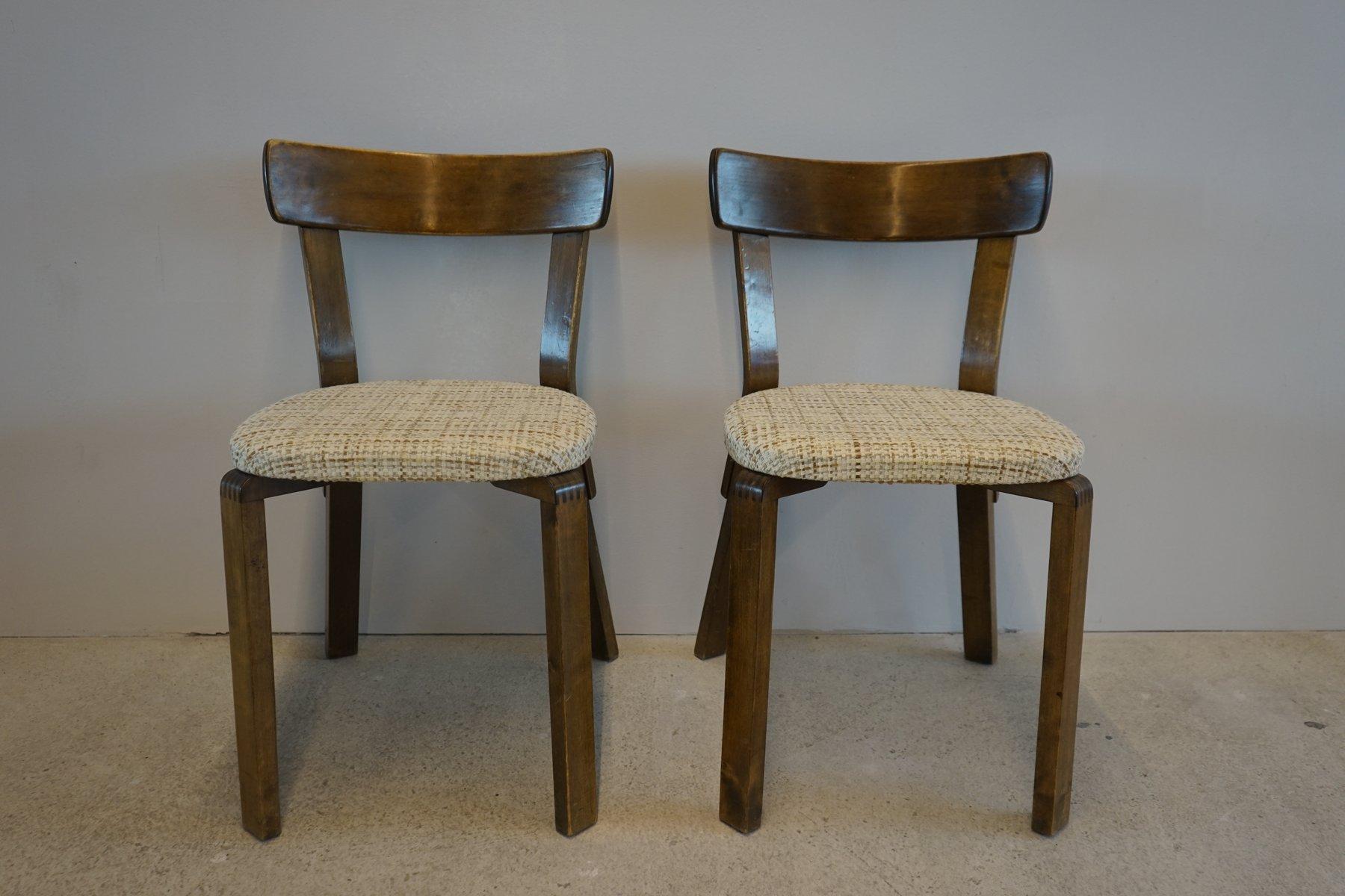 Prewar chair 69 by alvar aalto for artek 1940s for sale for Alvar aalto chaise