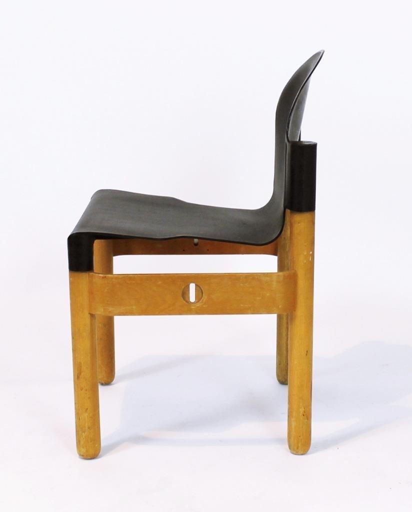 vintage flex 2000 stapelstuhl von gerd lange f r thonet 1980er bei pamono kaufen. Black Bedroom Furniture Sets. Home Design Ideas