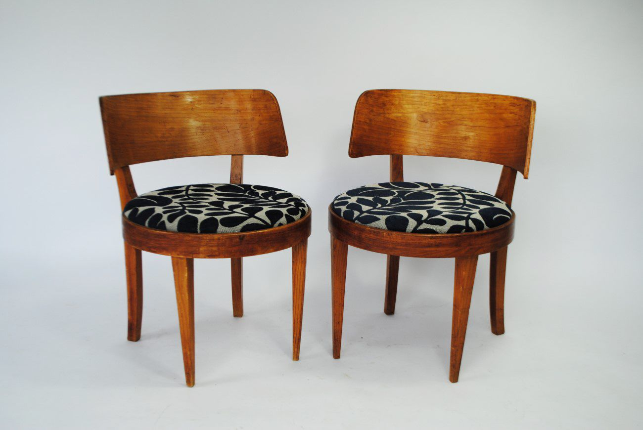 mid century st hle 1950er 2er set bei pamono kaufen. Black Bedroom Furniture Sets. Home Design Ideas