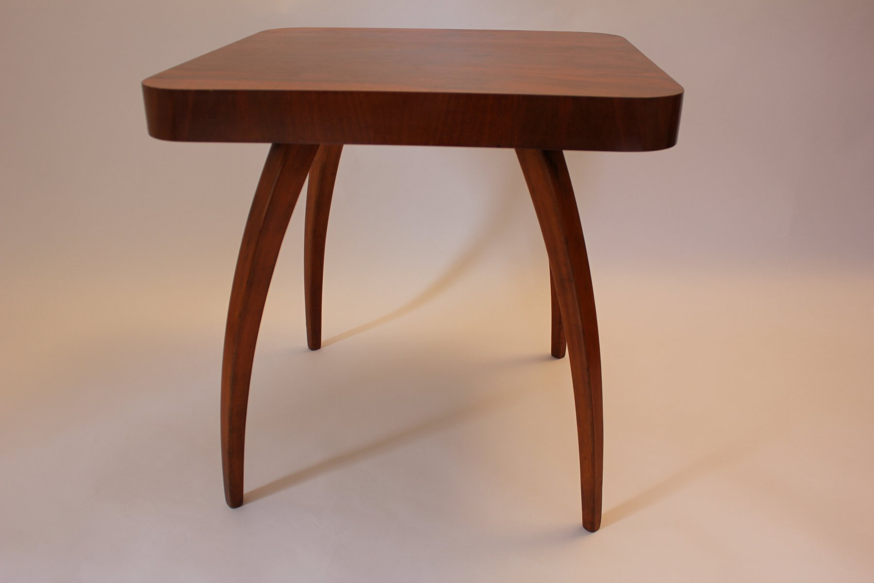 Spider Walnut Coffee Table By Jindrich Halabala For Up