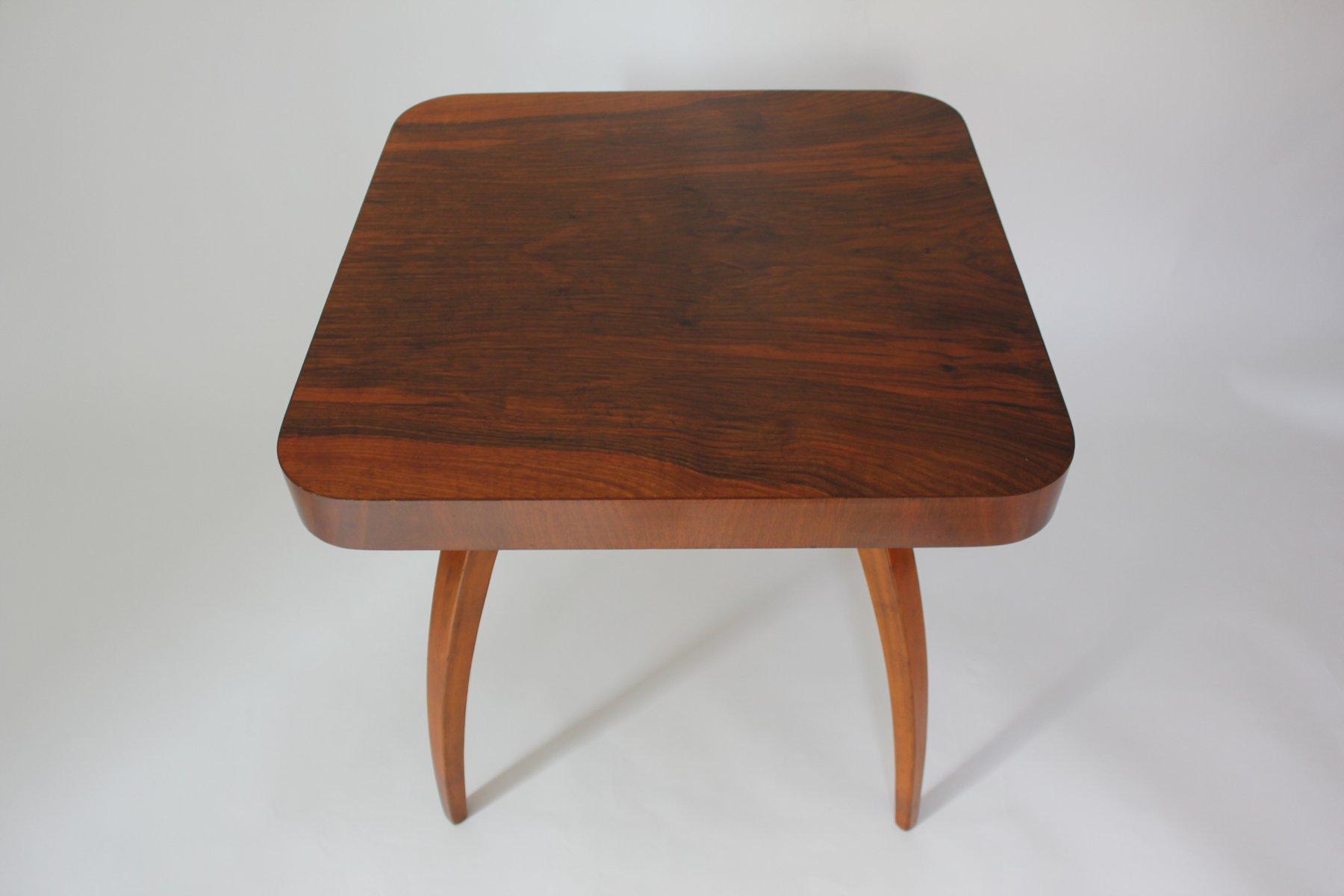 Spider Walnut Coffee Table by Jindrich Halabala for UP Zavody