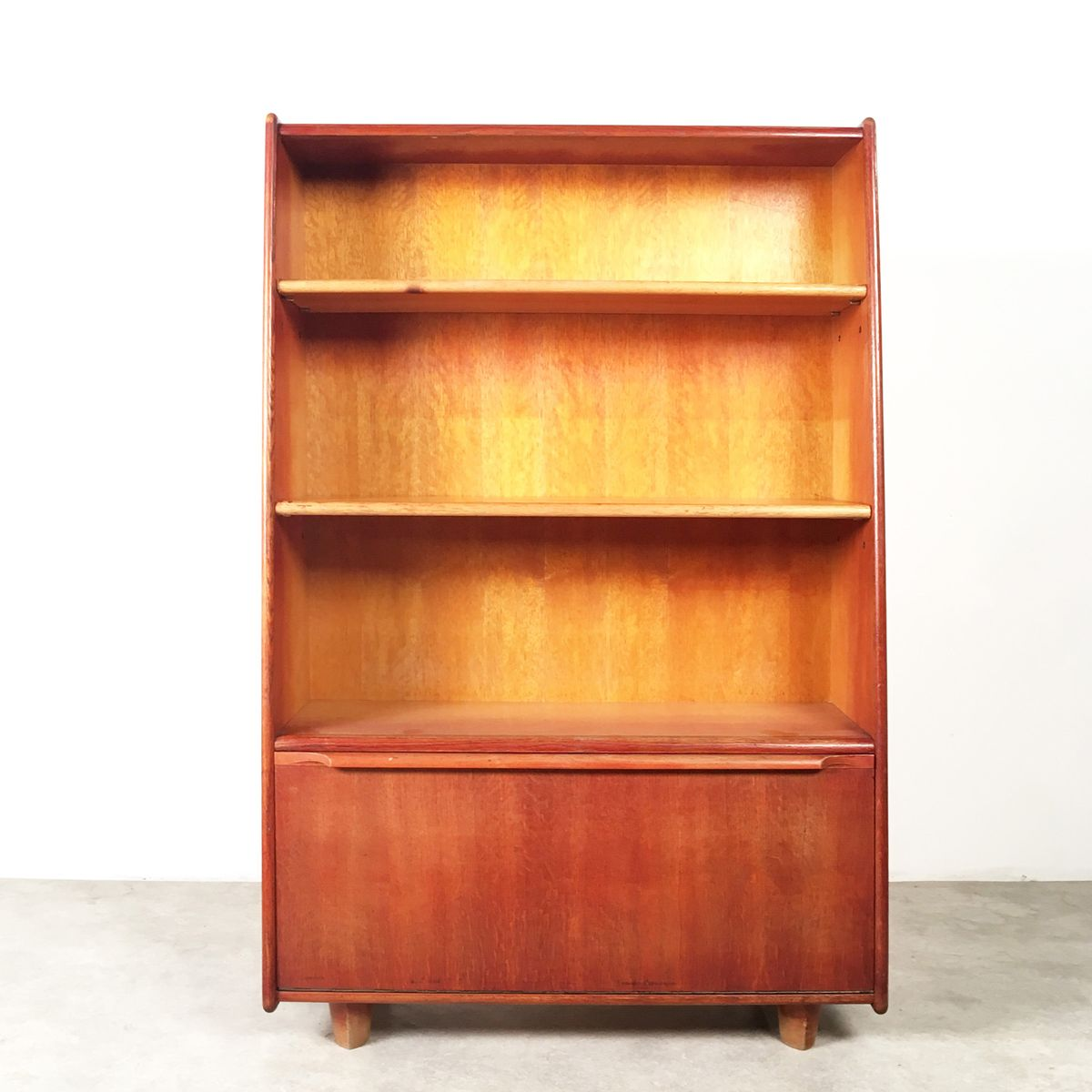 vintage oak series bookshelf by cees braakman for pastoe for sale at pamono