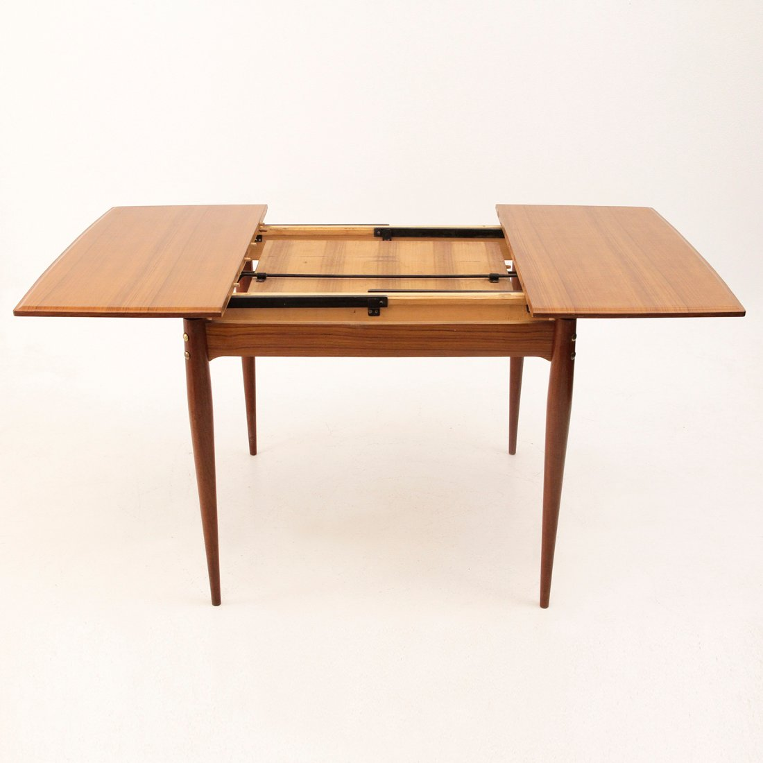 Square extendable italian dining table 1950s for sale at for Italian dining table