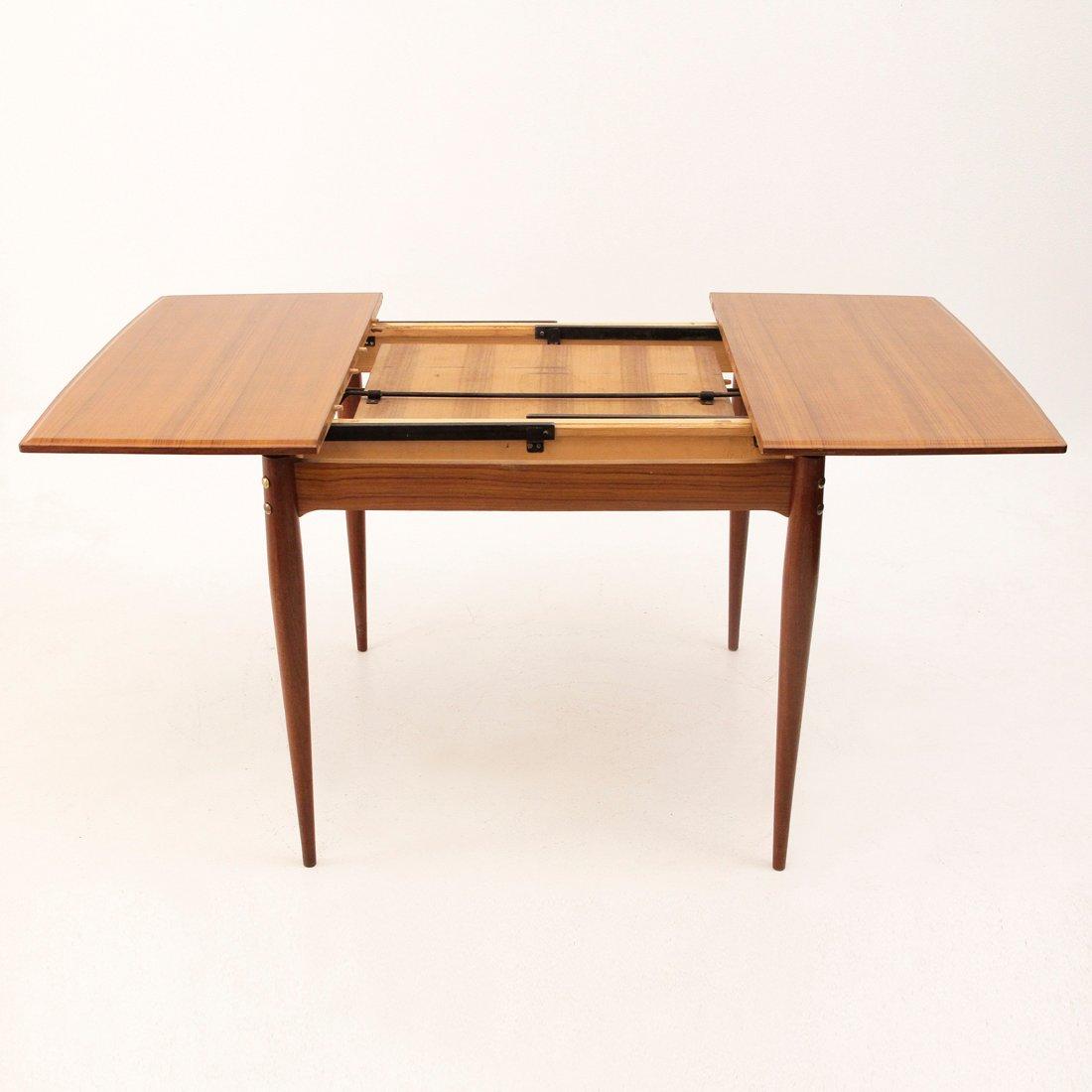 Tavolo da pranzo quadrato allungabile italia anni 39 50 in - Tavolo da pranzo quadrato ...