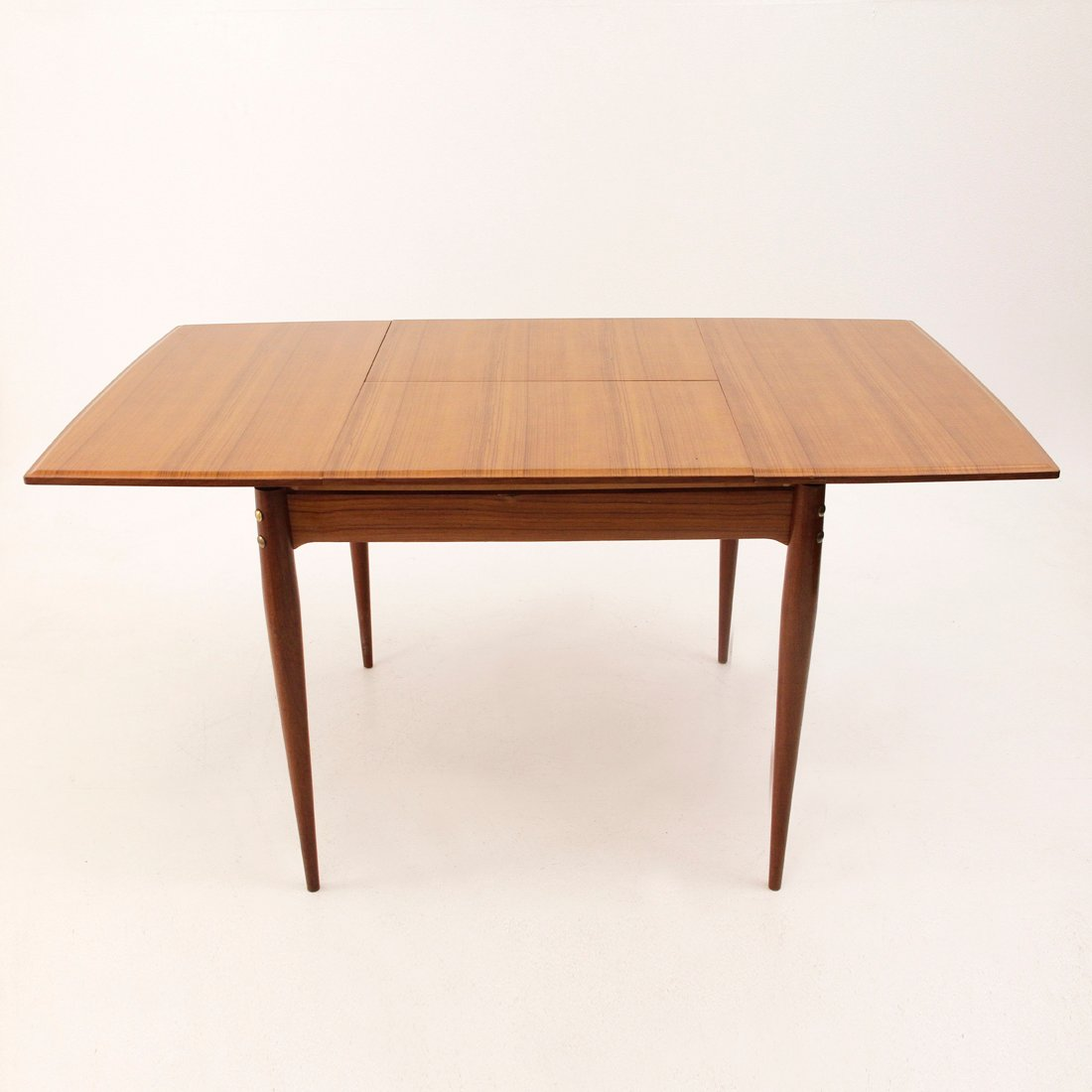 Square Extendable Italian Dining Table 1950s For Sale At