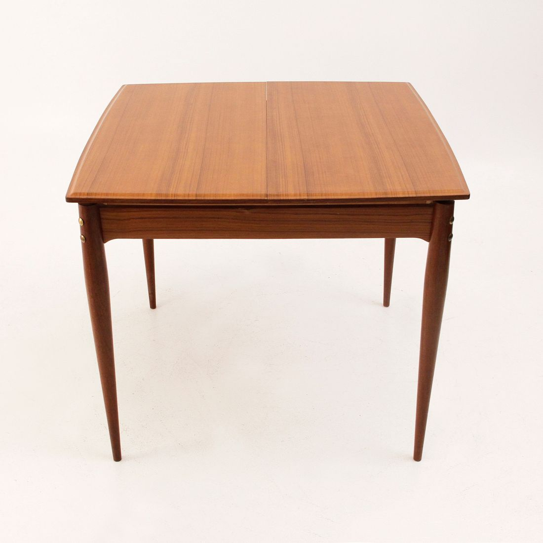 Italian Extendable Dining Table Square Extendable Italian Dining Table 1950s For Sale At Pamono