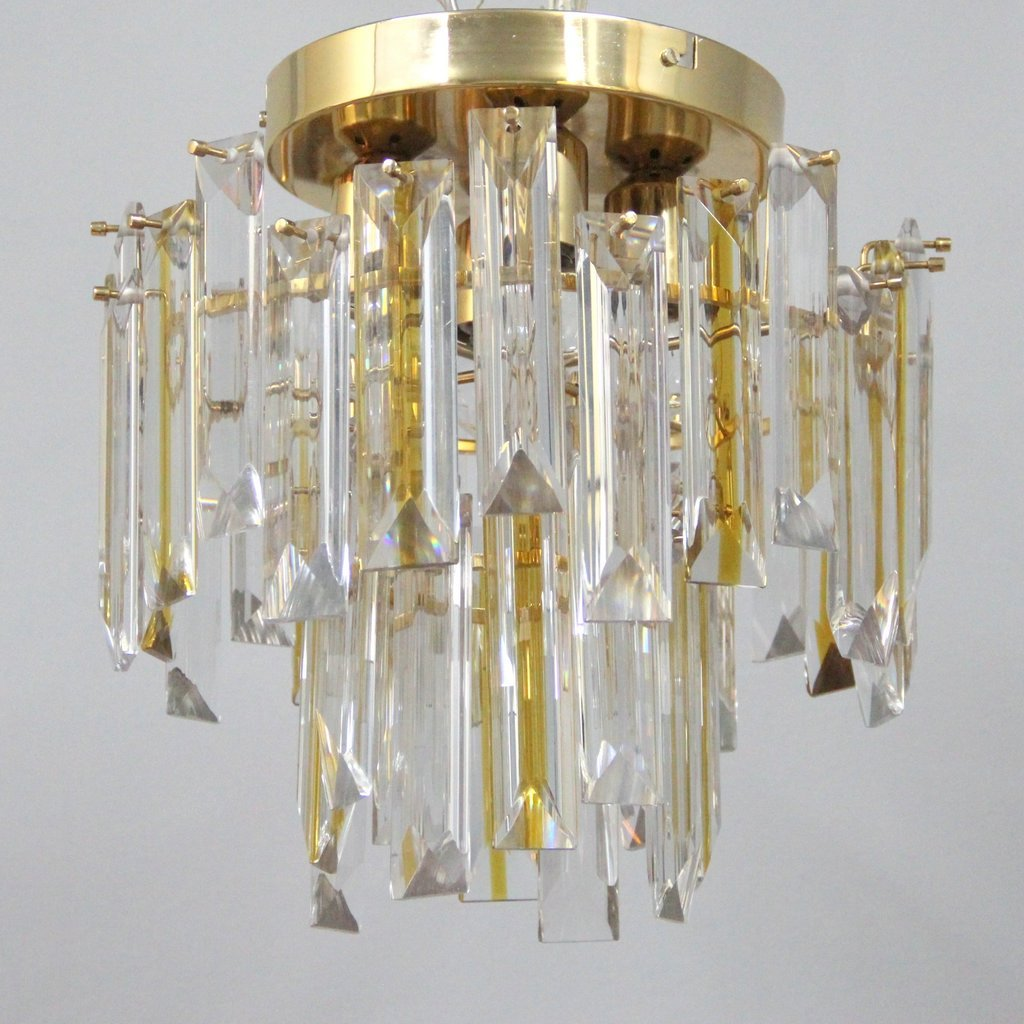 Vintage Italian Murano Glass Ceiling Light For Sale At Pamono