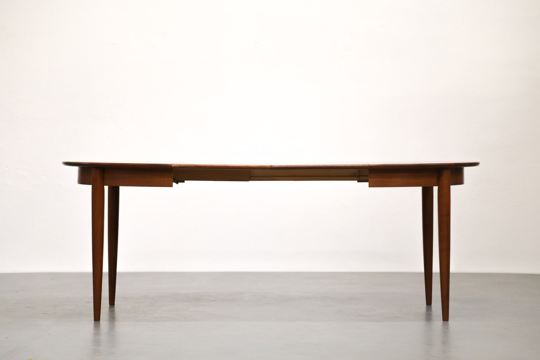 Scandinavian teak dining table with extension leaves for sale at pamono - Dining table scandinavian ...