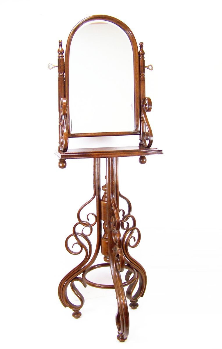 Antique dressing table with mirror - Antique Dressing Table With Mirror 35