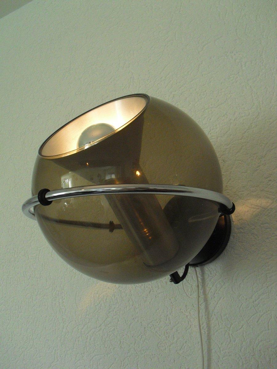 Applique Murale Globe Vintage Par Frank Ligtelijn Pour