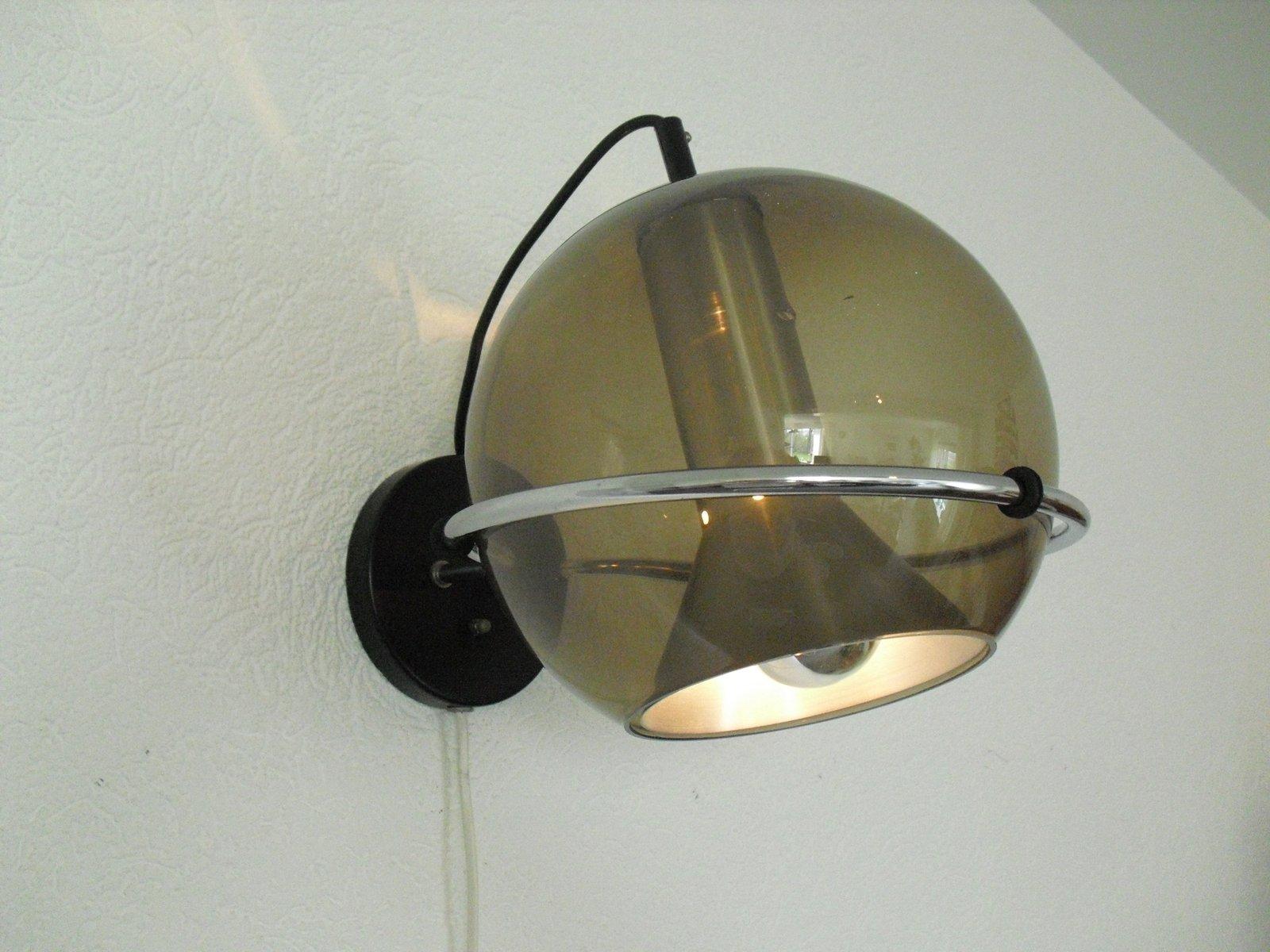 applique murale globe vintage par frank ligtelijn pour raak 1960s en vente sur pamono. Black Bedroom Furniture Sets. Home Design Ideas
