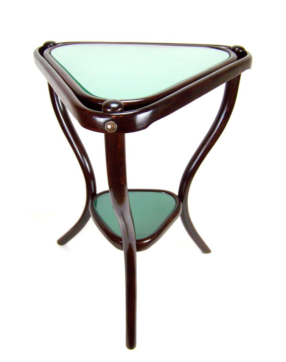 Antique Triangular Side Table Nr4 From Gebrüder Thonet, 1890s