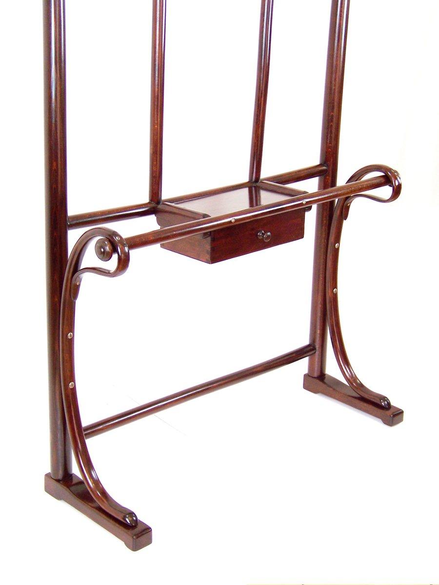 gro e nr 4 garderobe von thonet 1890er bei pamono kaufen. Black Bedroom Furniture Sets. Home Design Ideas