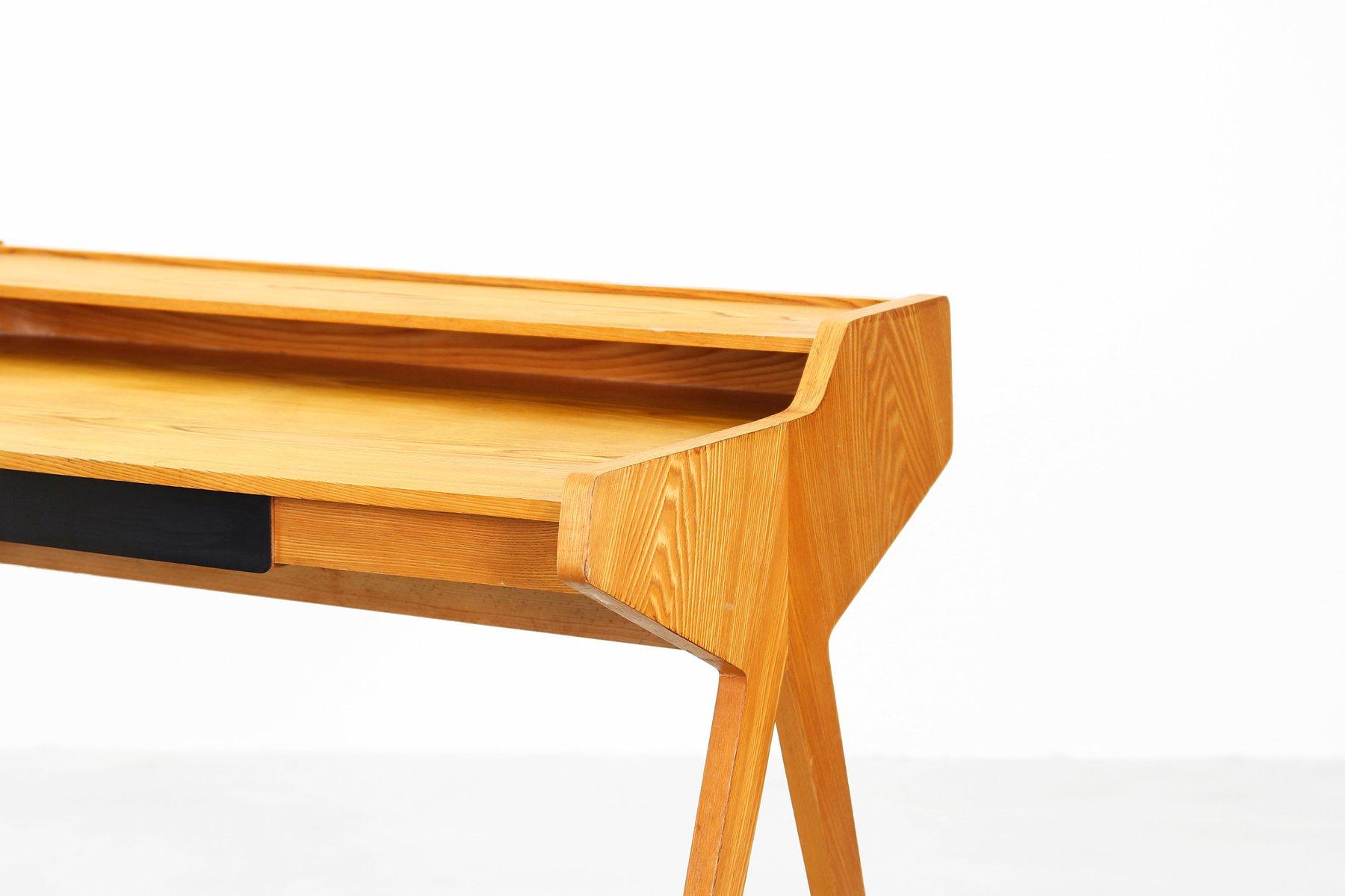 mid century schreibtisch von helmut magg f r wk m bel bei. Black Bedroom Furniture Sets. Home Design Ideas