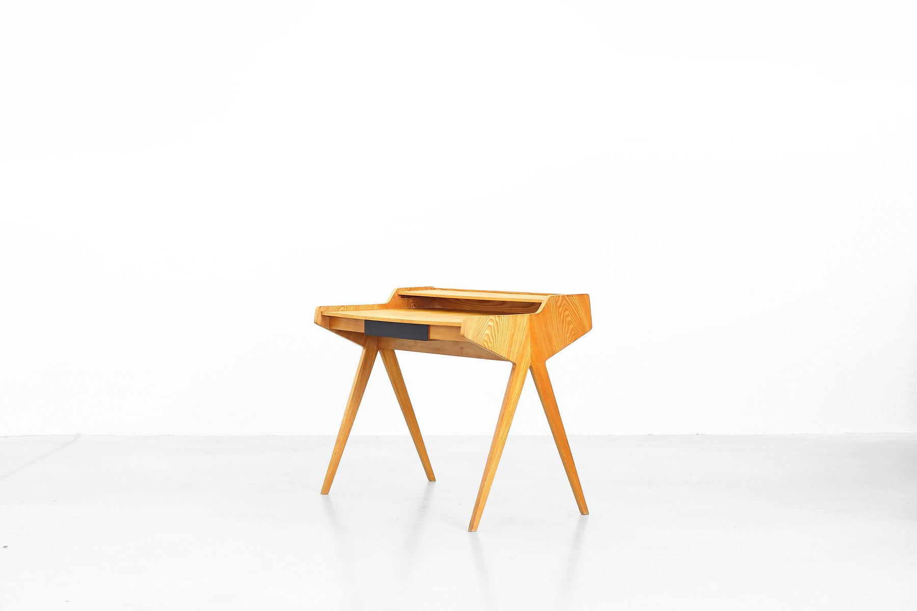 mid century writing desk by helmut magg for wk m bel for. Black Bedroom Furniture Sets. Home Design Ideas