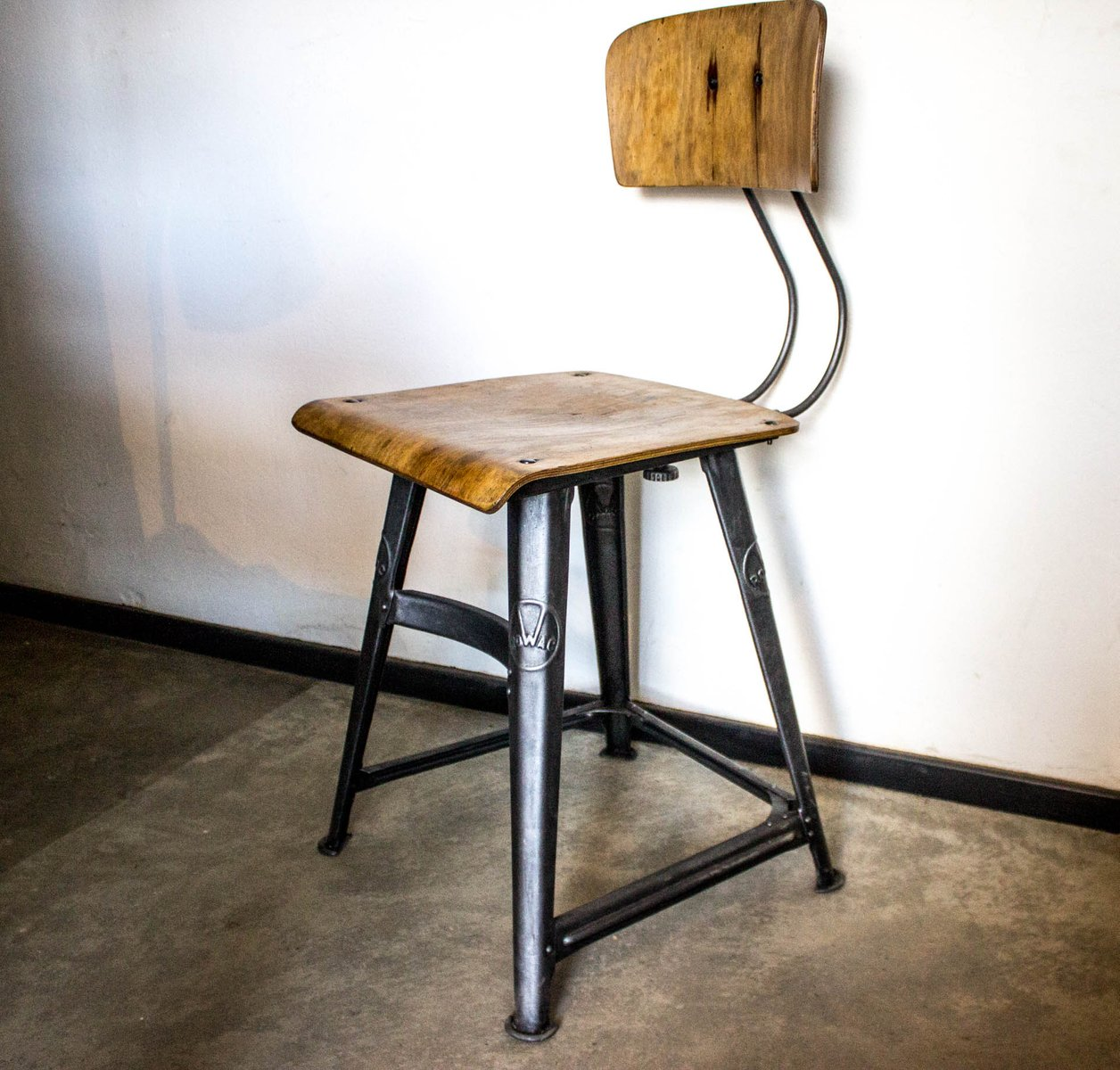 Vintage Desk Chair From Rowac For Sale At Pamono