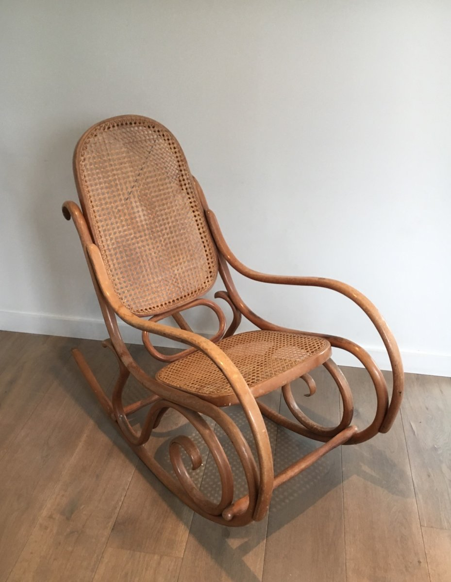 vintage bentwood rocking chair 1970s for sale at pamono. Black Bedroom Furniture Sets. Home Design Ideas