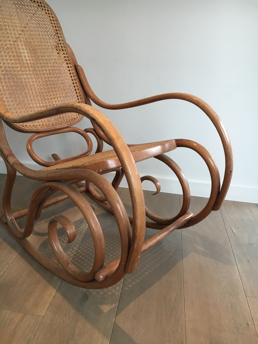 Bentwood rocking chair - Vintage Bentwood Rocking Chair 1970s 8 1 068 00 Price Per Piece