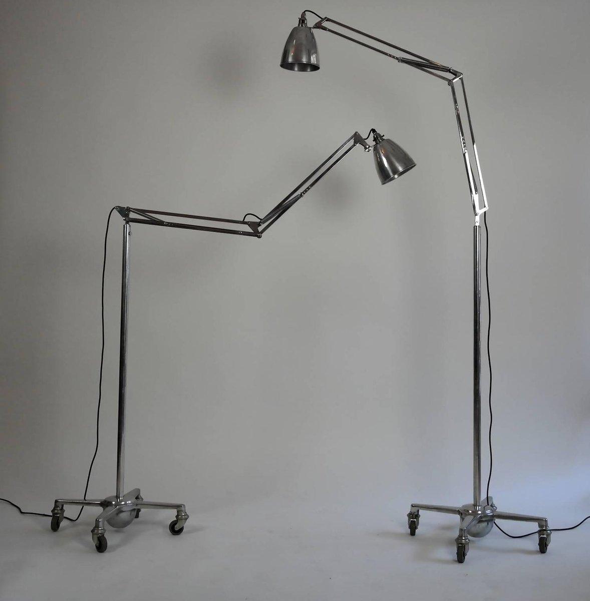 anglepoise floor lamp by george carwardine for herbert. Black Bedroom Furniture Sets. Home Design Ideas