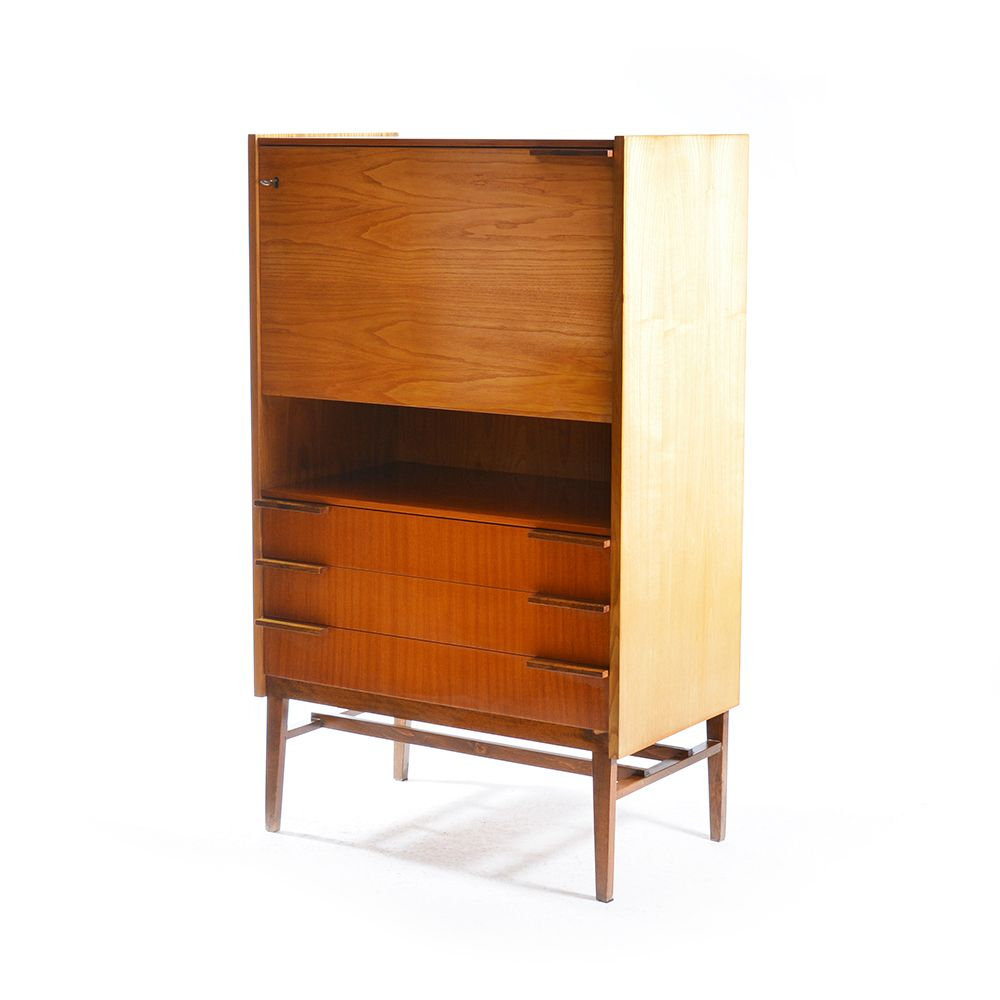 tschechische multifunktionale mid century kommode 1965. Black Bedroom Furniture Sets. Home Design Ideas