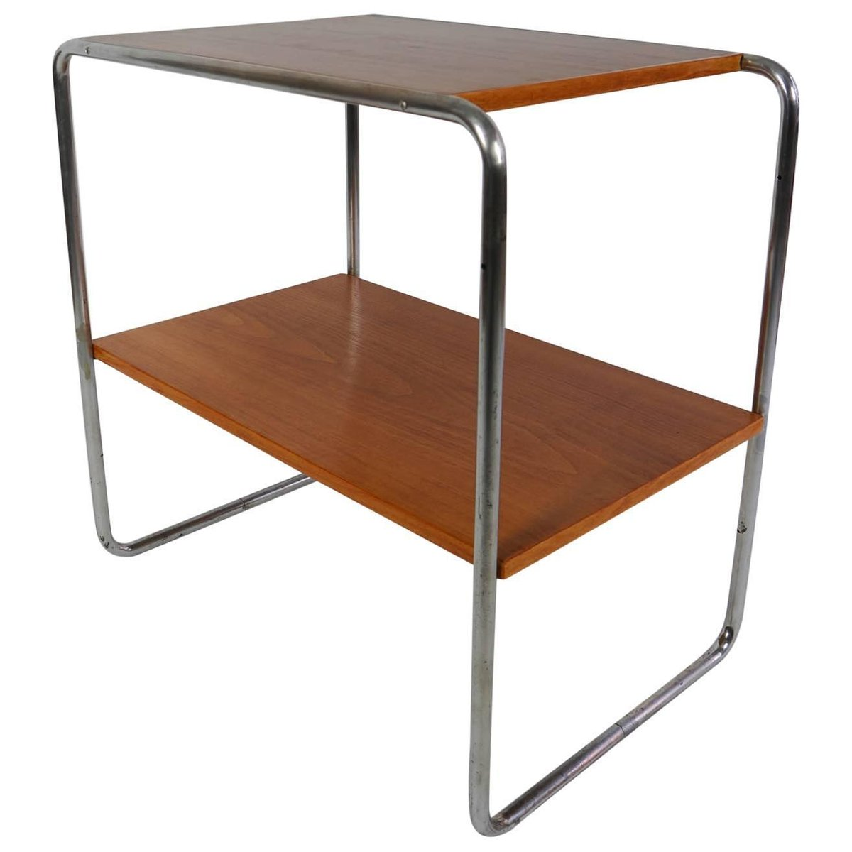vintage bauhaus console table by marcel breuer for sale at pamono. Black Bedroom Furniture Sets. Home Design Ideas