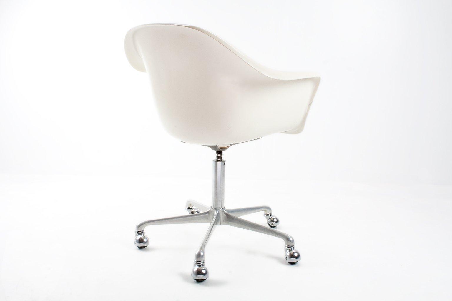 deutscher mid century fiberglas schreibtisch drehstuhl von. Black Bedroom Furniture Sets. Home Design Ideas