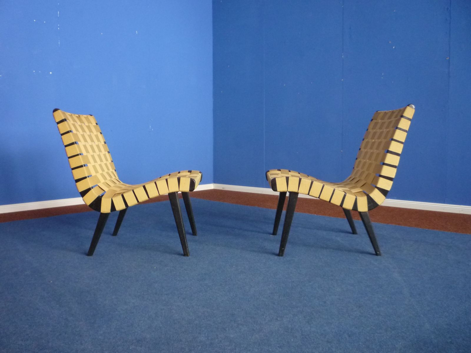 Jens Risom Side Chair Vostra Chairs By Jens Risom For Walter Knoll 1950s Set Of 2 For