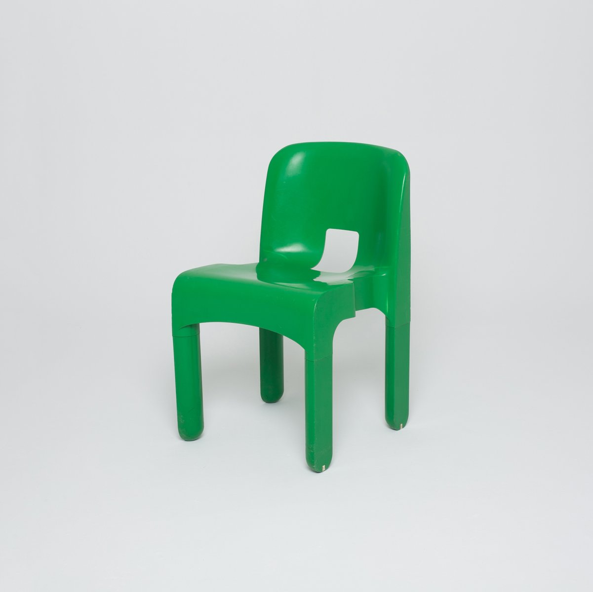 green chair by joe colombo for kartell for sale at pamono. Black Bedroom Furniture Sets. Home Design Ideas