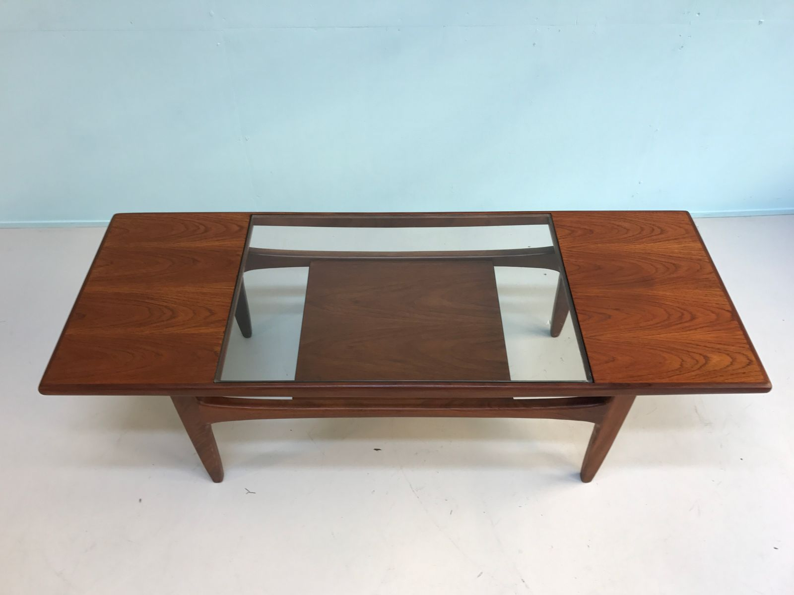 Teak And Glass Coffee Table Teak Glass Coffee Table From G Plan 1960s For Sale At Pamono