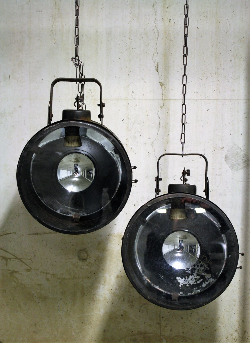 Vintage Industrial Ship Signal Lamp, 1960s for sale at Pamono