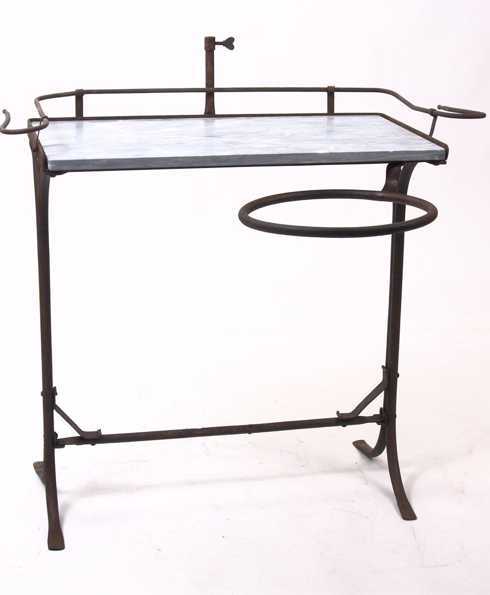 italienischer waschtisch mit marmorplatte bei pamono kaufen. Black Bedroom Furniture Sets. Home Design Ideas
