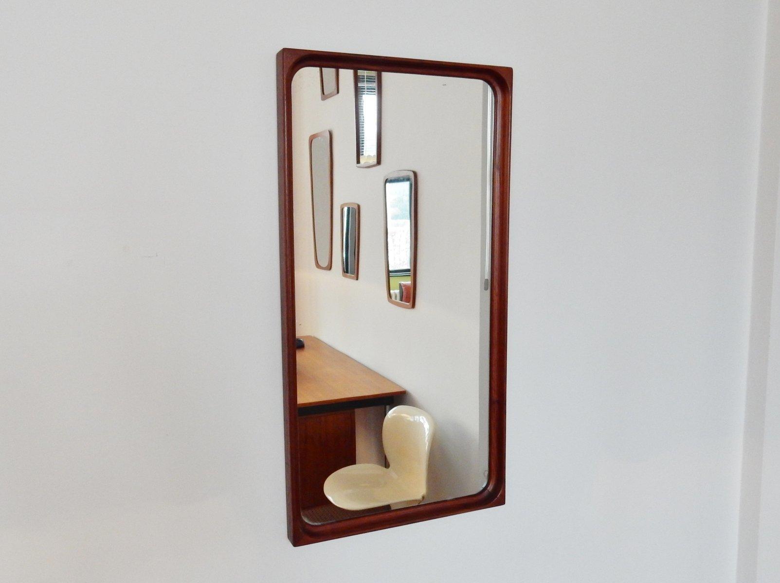 vintage spiegel mit palisander rahmen bei pamono kaufen. Black Bedroom Furniture Sets. Home Design Ideas
