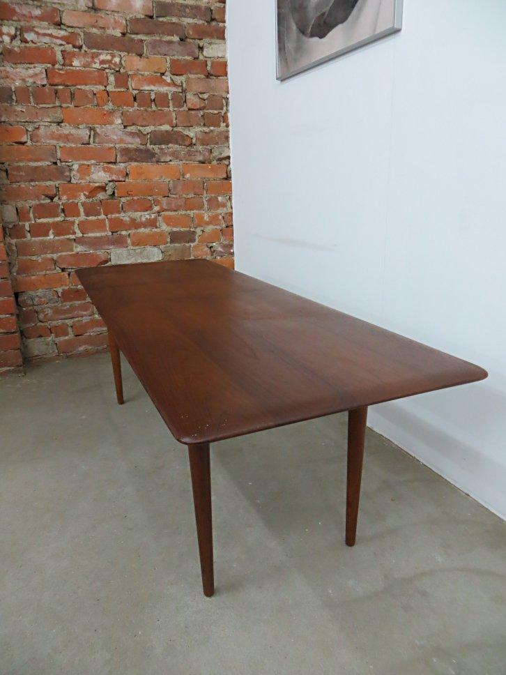 Danish Teak Wood Coffee Table By Peter Hvidt U0026 Orla Molgaard Nielsen For  France U0026 Søn