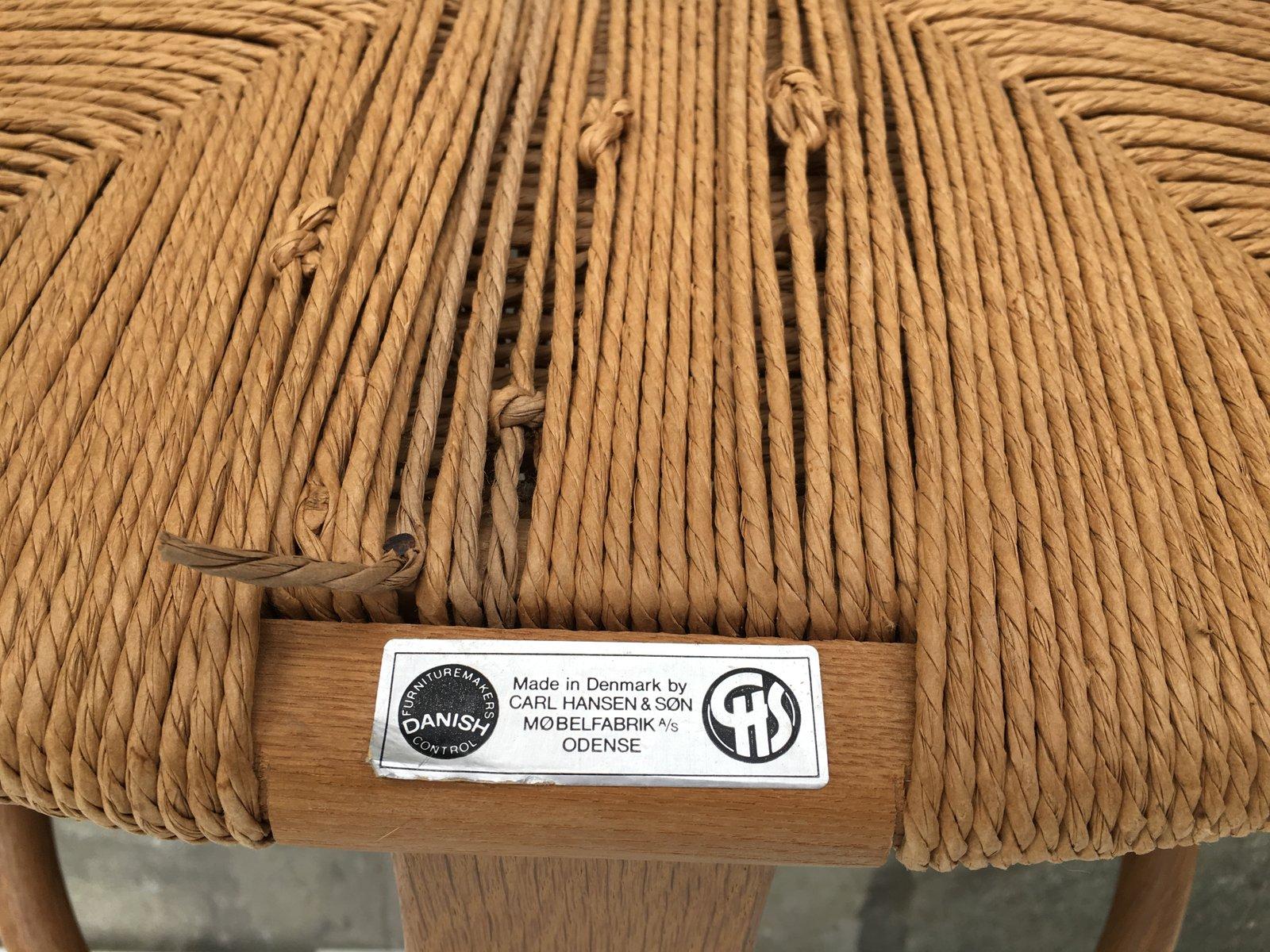 CH24 Y Wishbone Chairs by Hans Wegner for Carl Hansen & S¸n 1950s