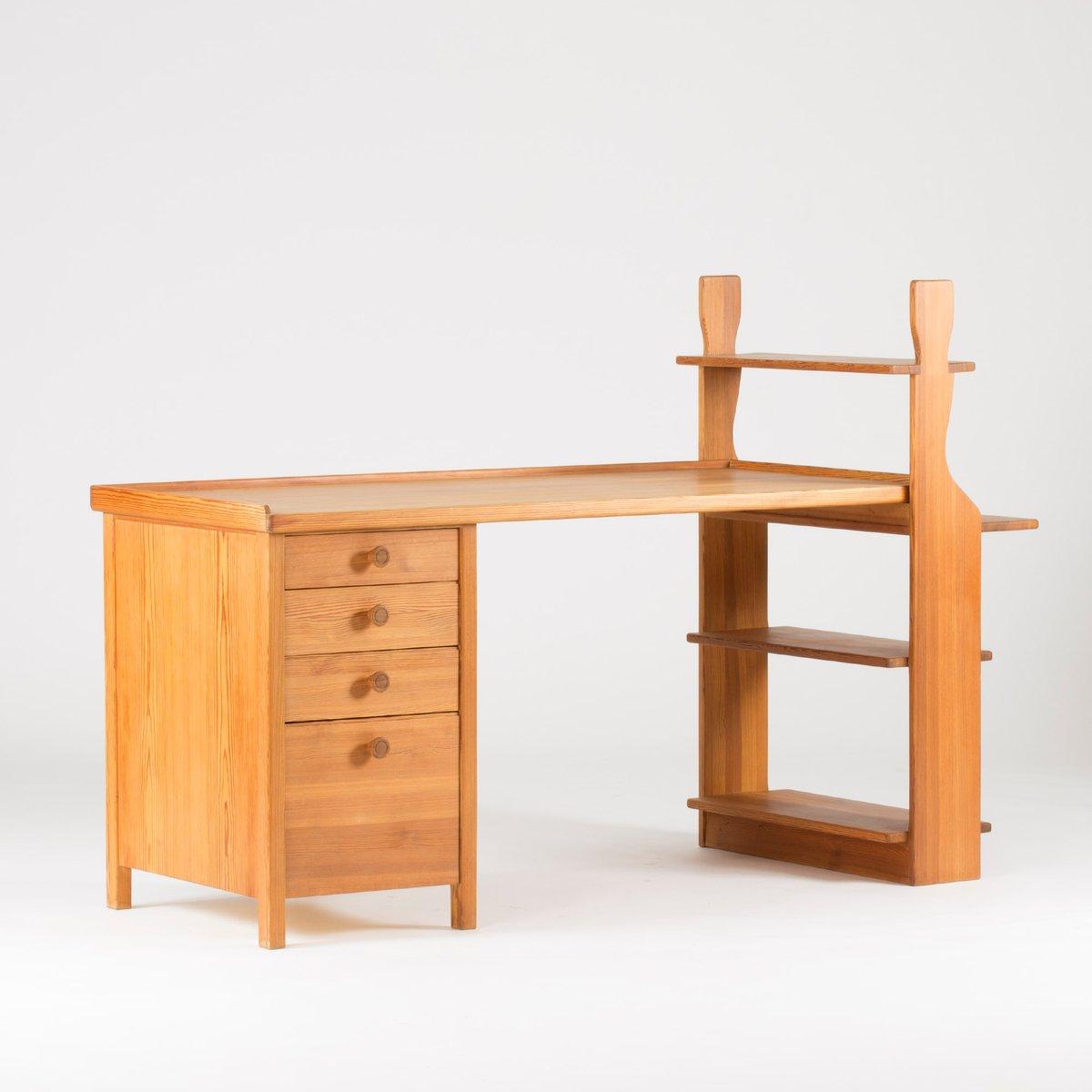 Schreibtisch aus kiefernholz von carl malmsten 1930er bei - Schreibtisch kiefernholz ...