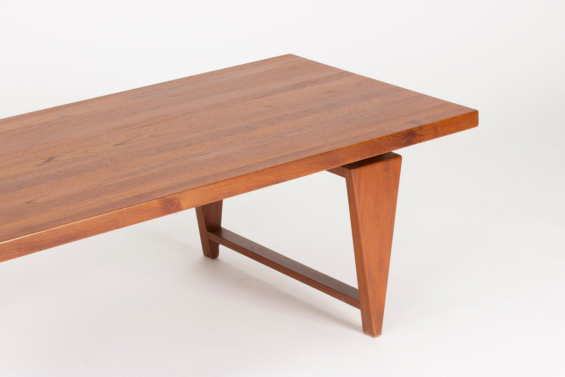 Teak Coffee Table By Illum Wikkels For Mikael Laursen 1960s
