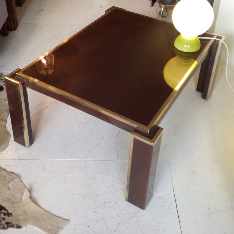 antique brass table ls for sale