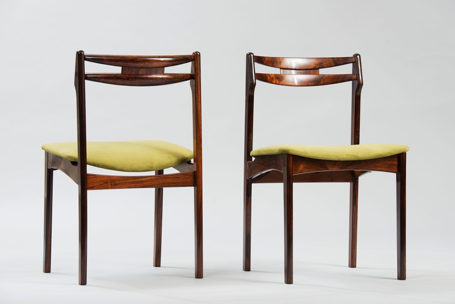 Mid Century Danish Dining Chairs Set Of 6 For Sale At Pamono