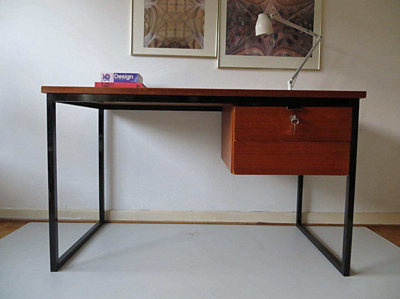 scandinavian minimalist desk 1960s for sale at pamono. Black Bedroom Furniture Sets. Home Design Ideas