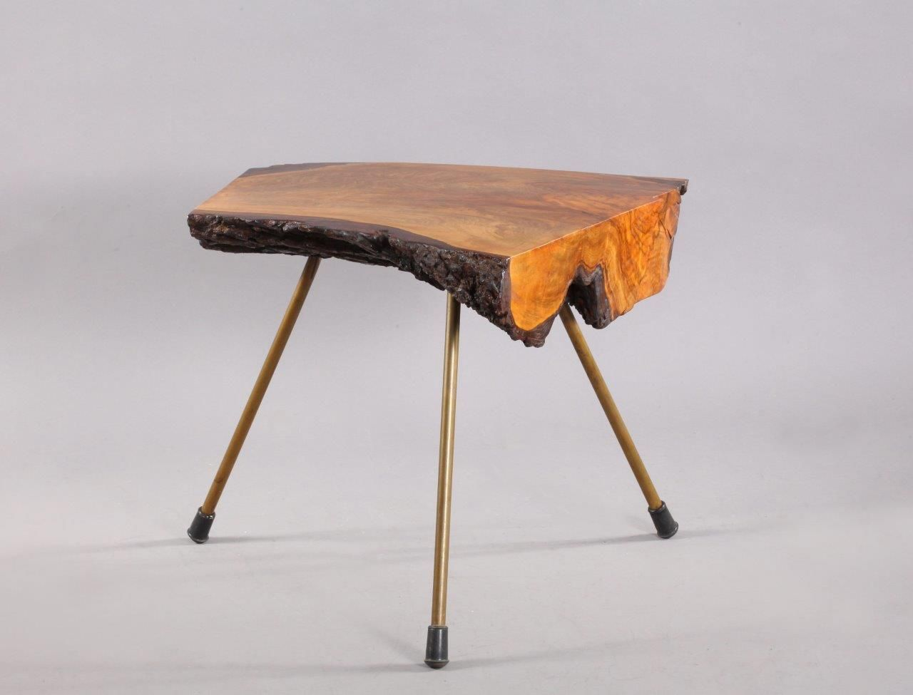 table tronc d 39 arbre par carl aub ck 1950s en vente sur pamono. Black Bedroom Furniture Sets. Home Design Ideas