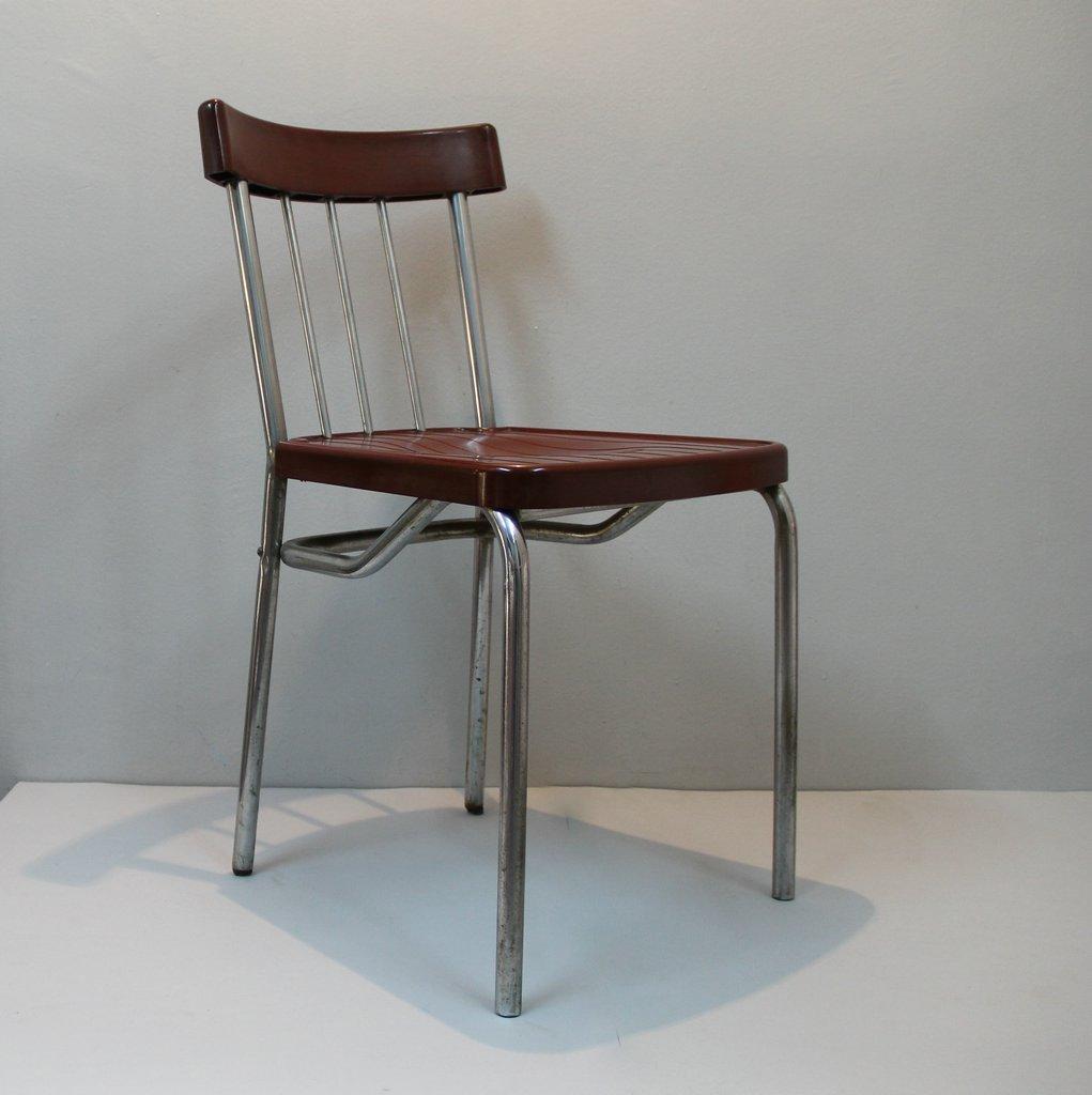 art deco bakelit stuhl bei pamono kaufen. Black Bedroom Furniture Sets. Home Design Ideas