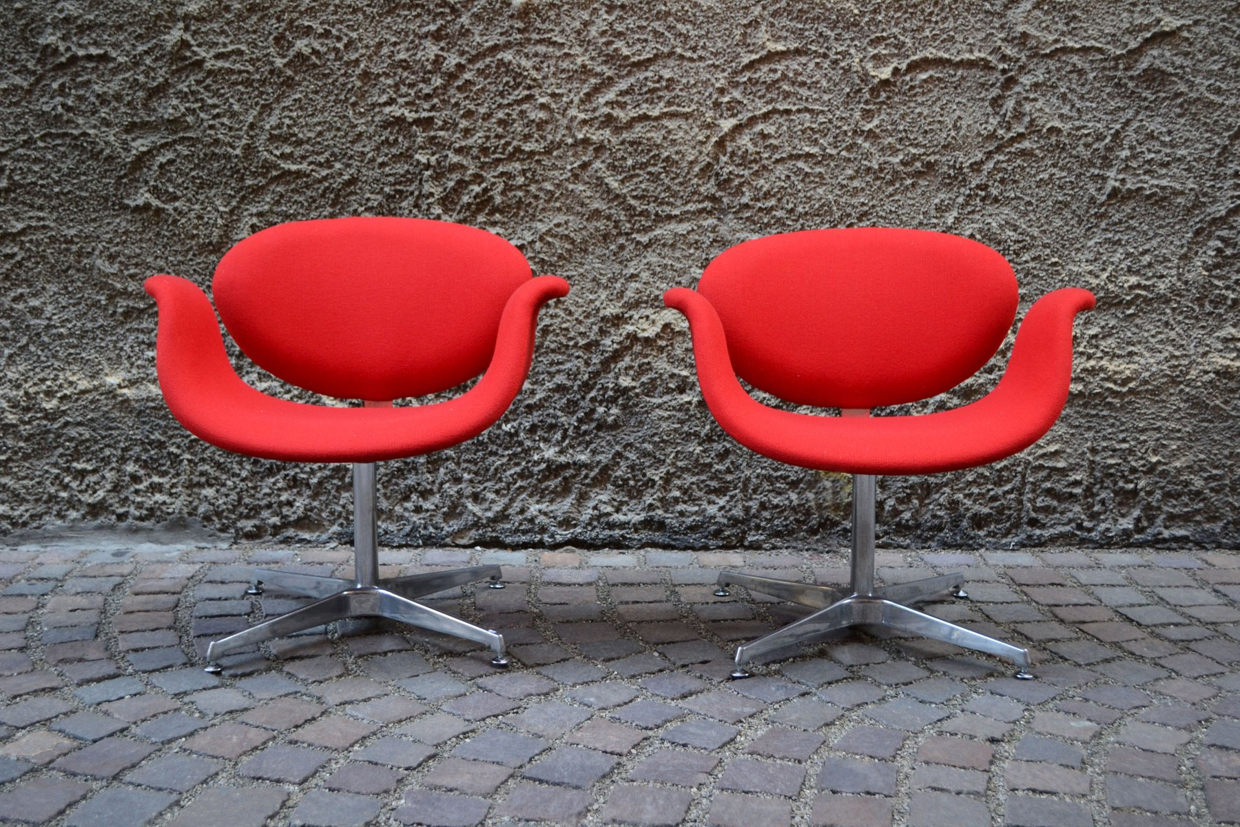 Little tulip chairs by pierre paulin for artifort 1960s set of 2 for sale at pamono - Tulip chairs for sale ...
