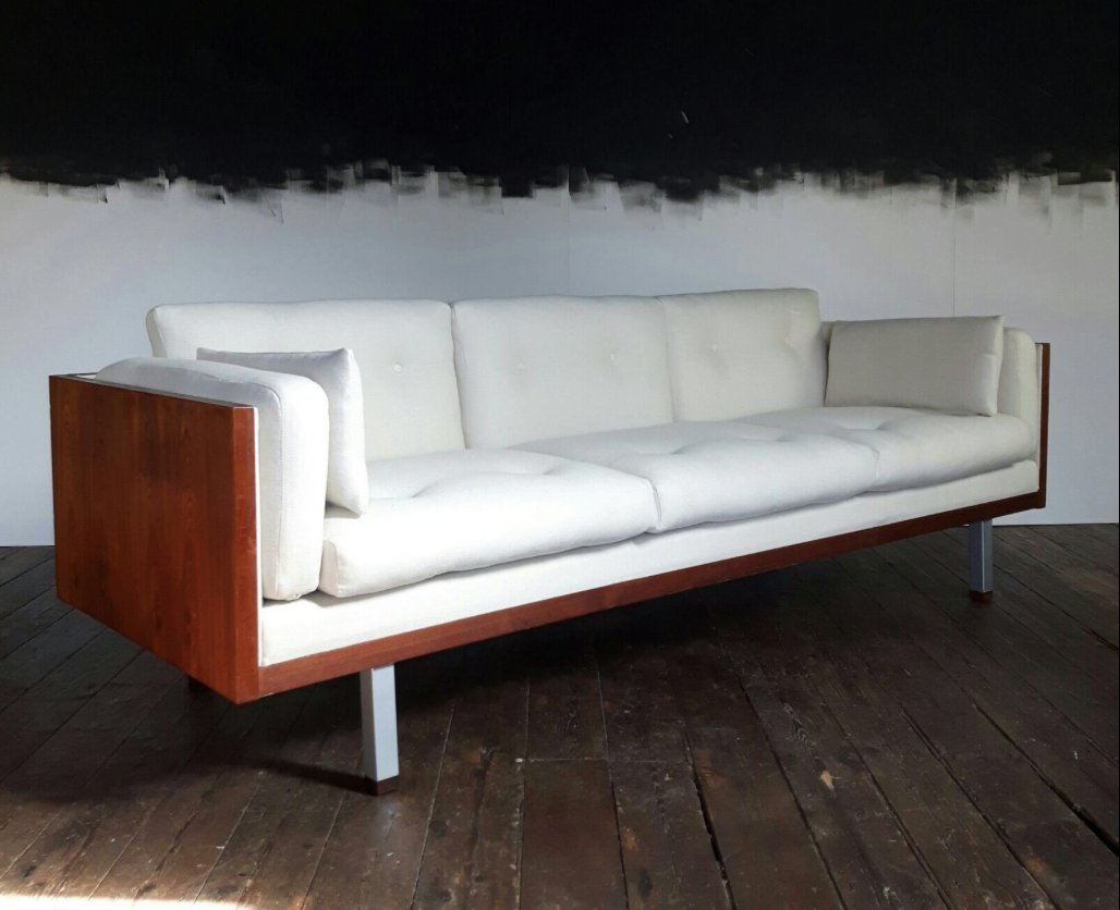 Mid Century Danish Sofa From Jydsk Mobelvaerk For Sale At Pamono
