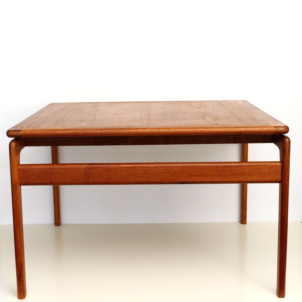 Teak Square Coffee Table From Trioh 1960s For Sale At Pamono