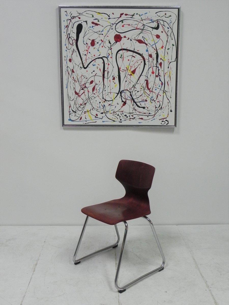 vintage st hle von adam stegner f r fl totto 9er set bei. Black Bedroom Furniture Sets. Home Design Ideas