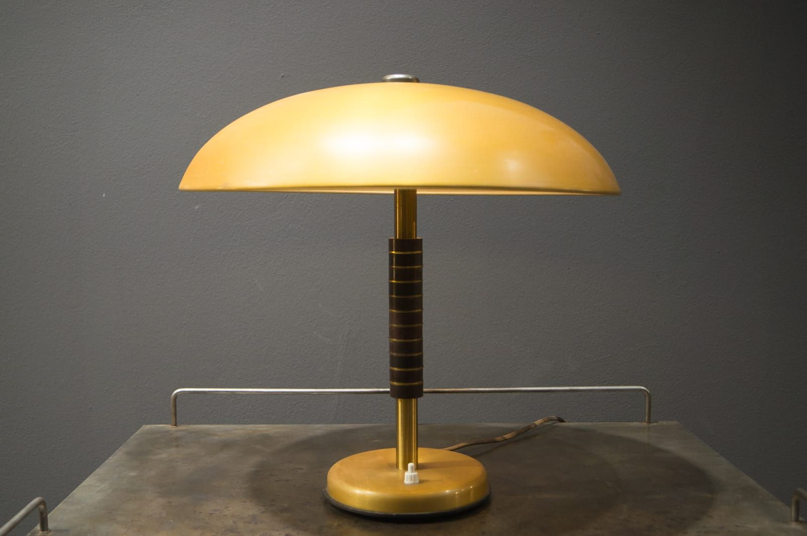 Vintage Art Deco Mushroom Table Lamp For Sale At Pamono