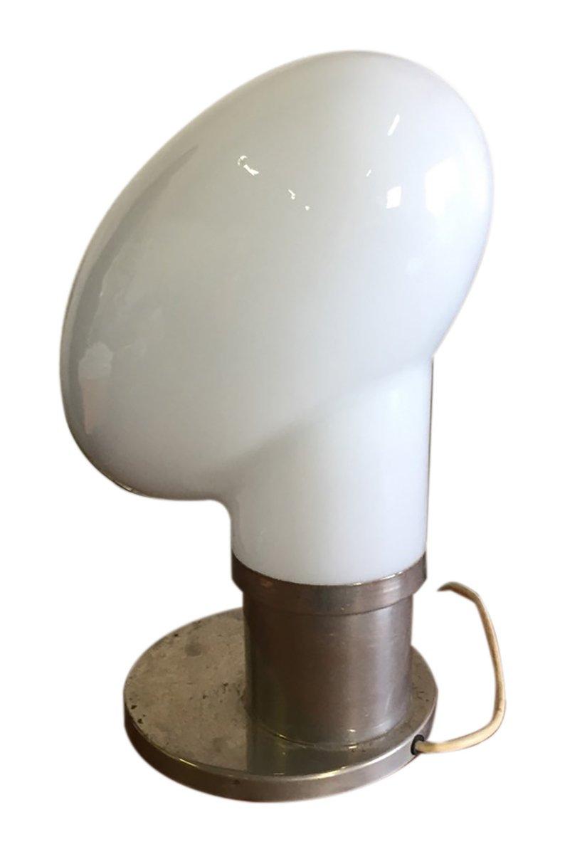 vintage tischlampe aus mundgeblasenem glas bei pamono kaufen. Black Bedroom Furniture Sets. Home Design Ideas