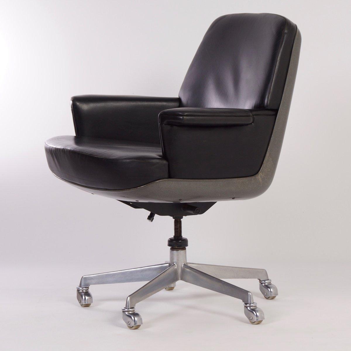 chaise de bureau de wilkhahn 1970s en vente sur pamono. Black Bedroom Furniture Sets. Home Design Ideas